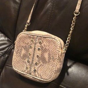 Michael Kors Snakeskin Crossbody. Great Condition!